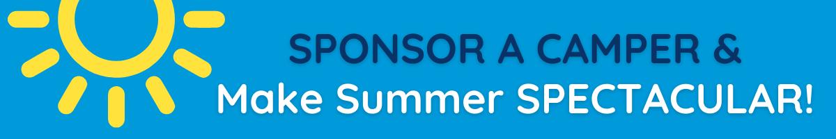 Sponsor a Camper 2021 Banner